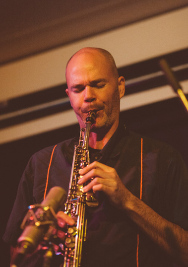 Jon Bentley - Saxophone